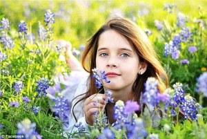 Essa é Meredith Scrivener, hoje com 10 anos.