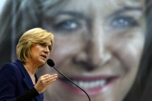 Chilean Presidential candidate for Alianza Evelyn Matthei