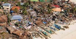 Tufão Haiyan: passagem pelas Filipinas
