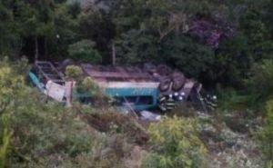 Rafael Rezende O acidente ocorreu no km 301, em São Lourenço da Serra (Grande São Paulo), por volta das 2h deste domingo