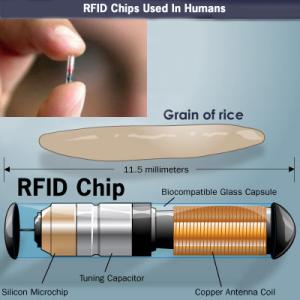 RFID Chip Agora sendo emitido em Hanna