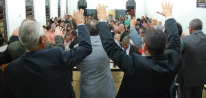 Posse do Pr. Valmir -J. Novo Horizonte 20-02-14 292