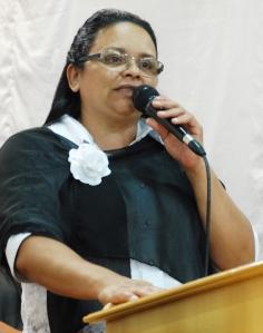Eolanda Freitas - Dirigente