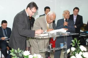 Dirigente da congregação do Coqueiros o Ev. Josué de Lima Soares